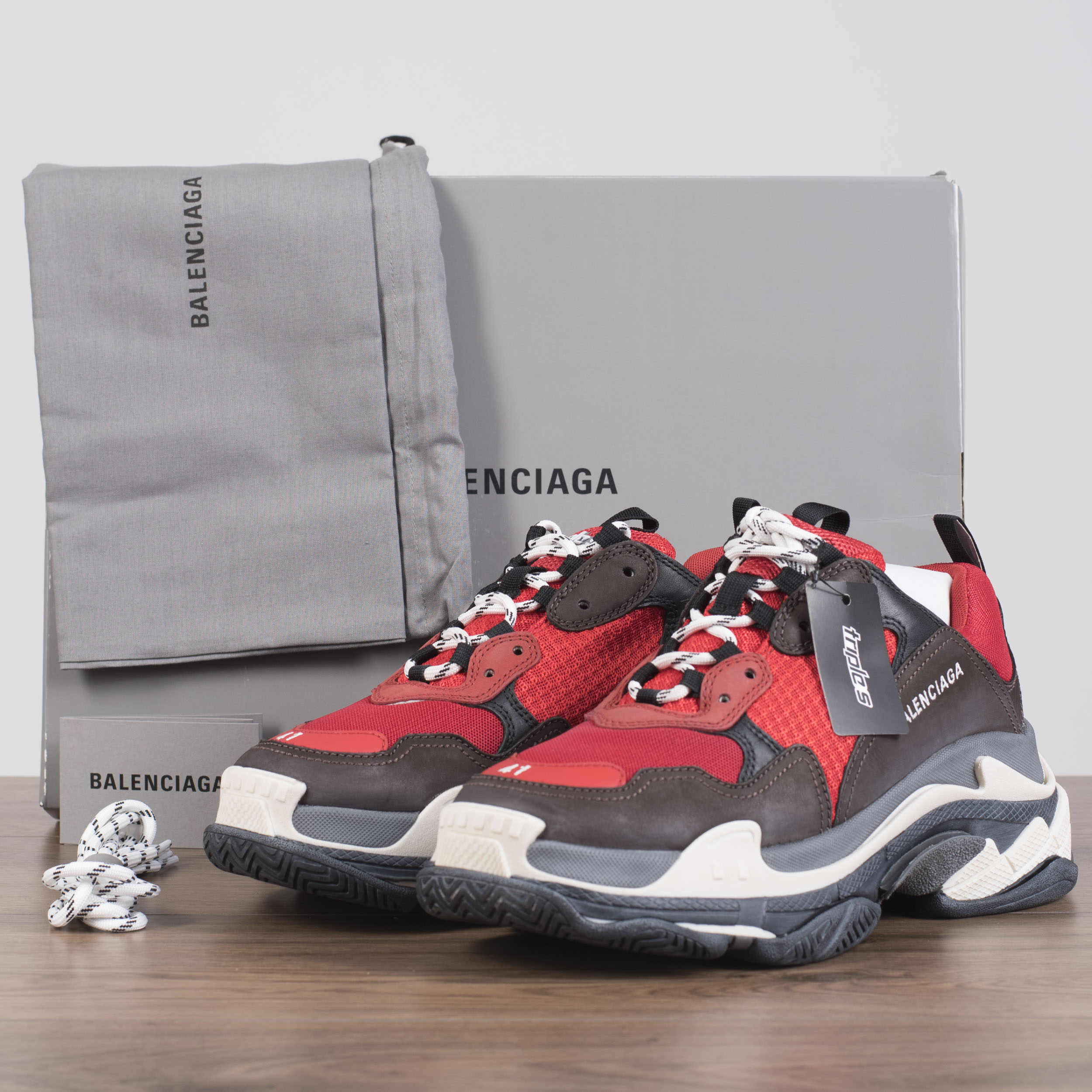 f3725f13845 Details about BALENCIAGA 950  Authentic New Triple S Sneakers In Black