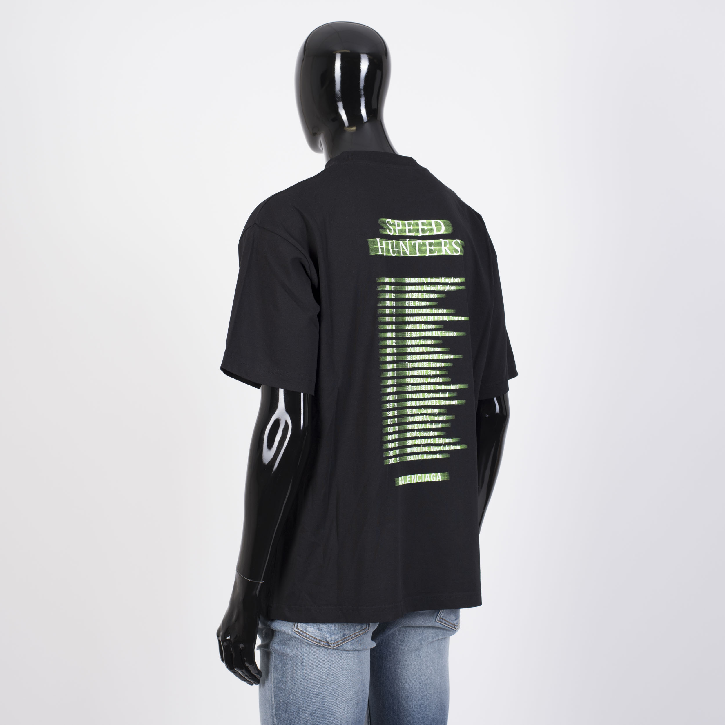 0ecac0f37e7f BALENCIAGA 550$ Oversized Speedhunters Boyband Printed Tshirt In ...