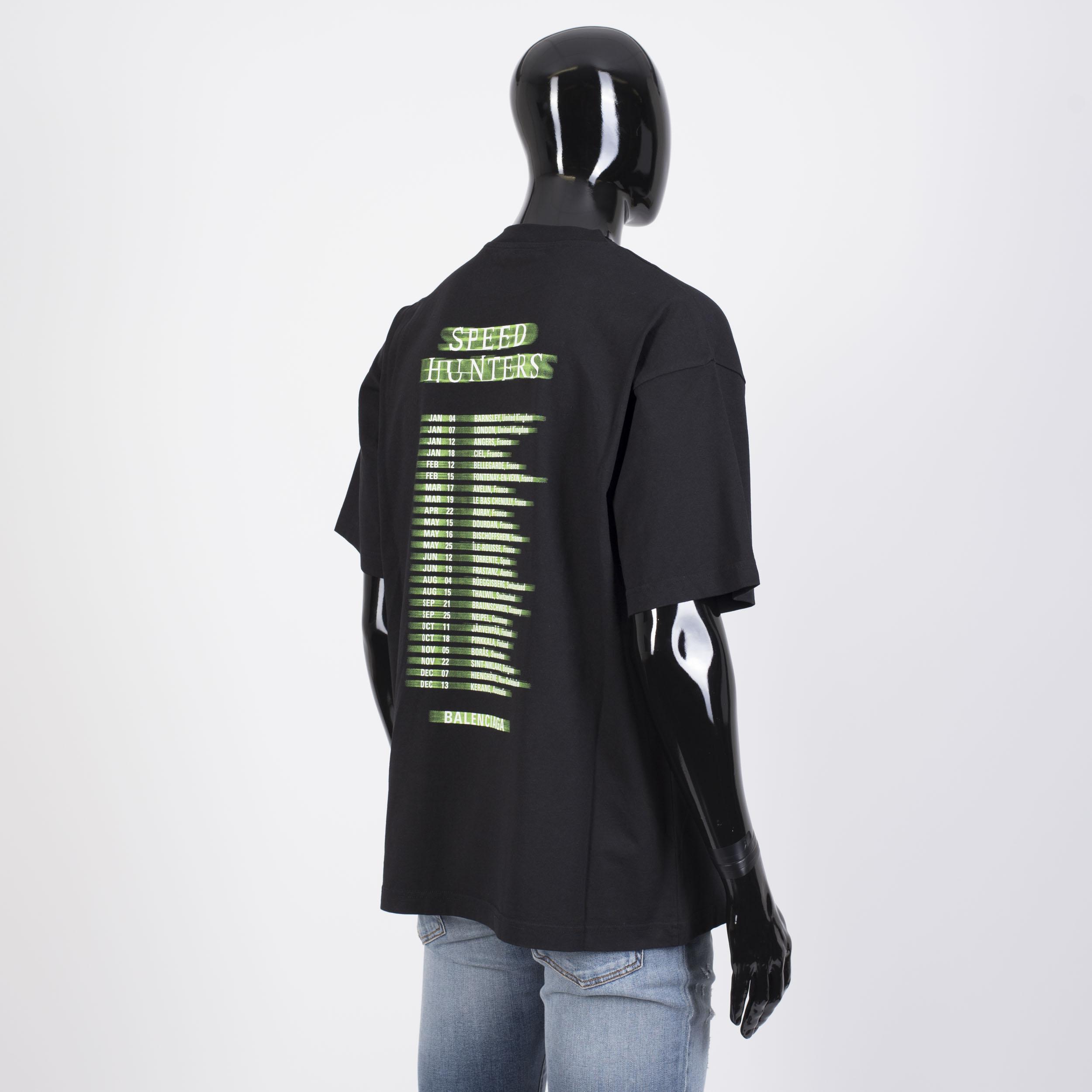 665ee3b0f1d7 BALENCIAGA 550  Oversized Speedhunters Boyband Printed Tshirt In ...