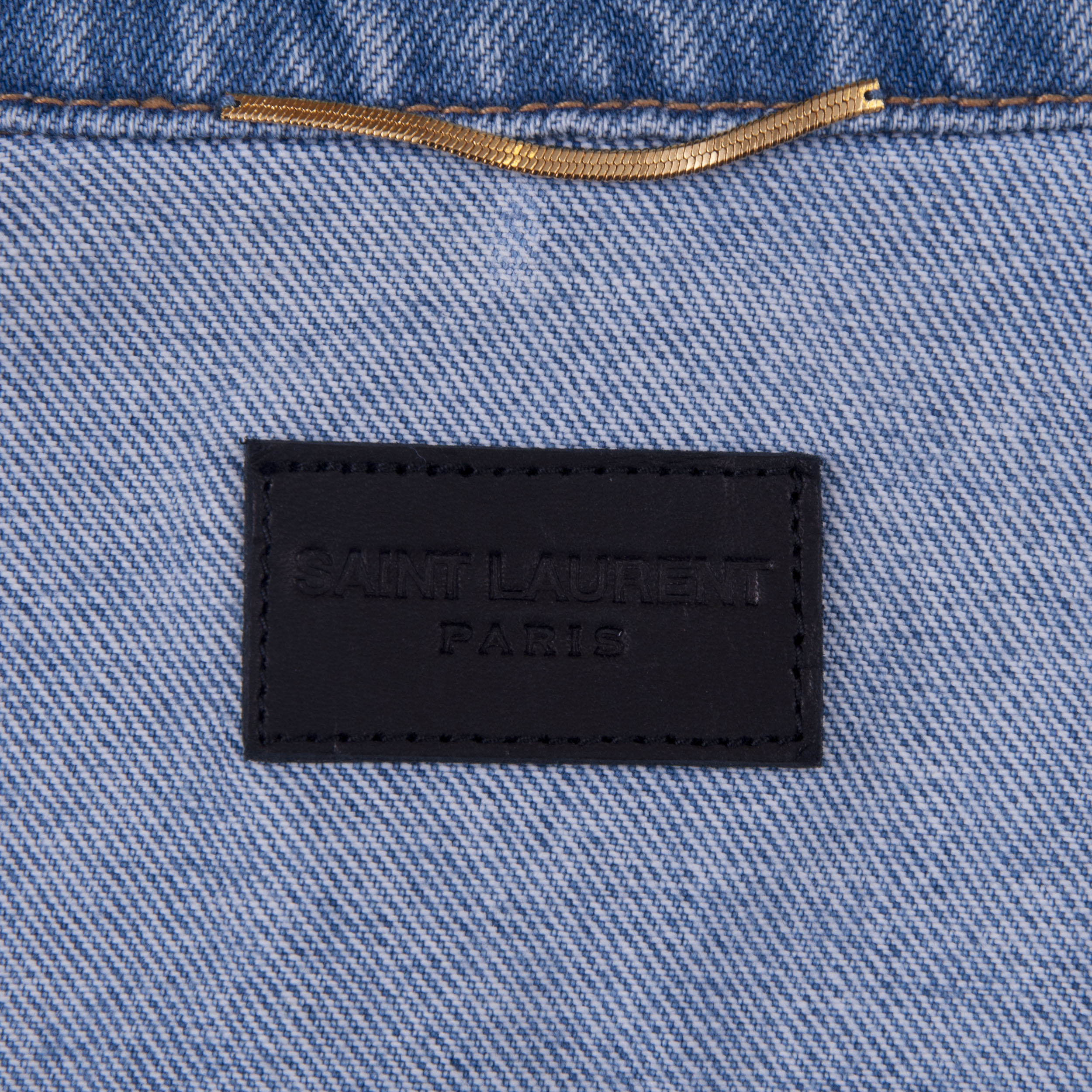 b4ab6d3939 SAINT LAURENT PARIS 1490$ Oversized Loulou Embroidery Jacket In ...